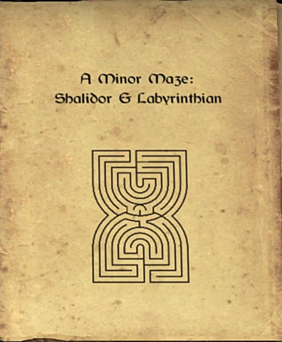 File:A Minor Maze first page.png