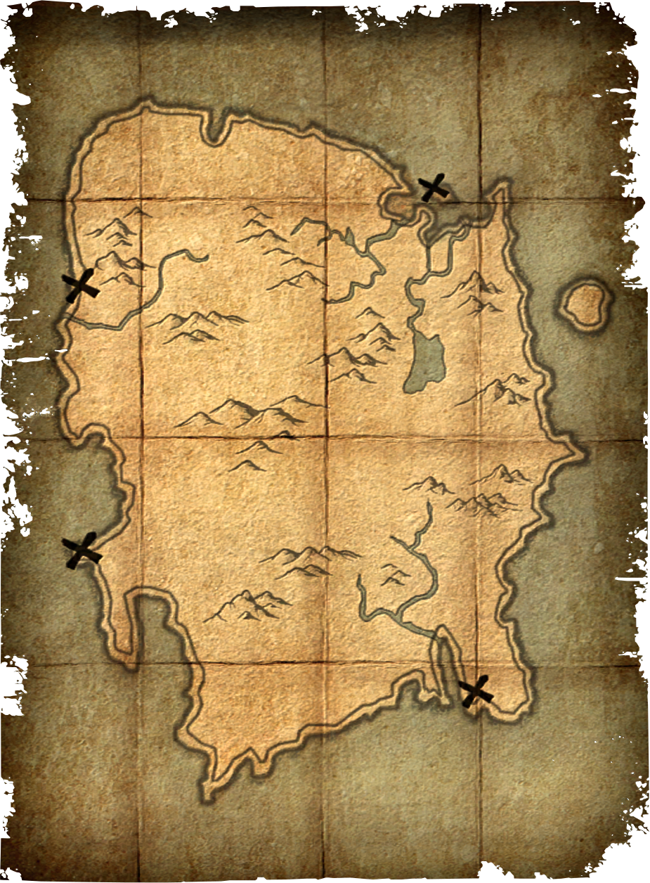 Deathbrand Treasure Map Elder Scrolls Fandom Powered