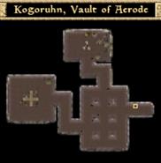 Kogoruhn, Vault of Acrode - Interior Map - Morrowind