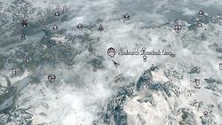 Hjaalmarch stormcloak camp map