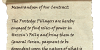Contract Scroll