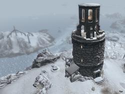 TESV Frostflow Lighthouse