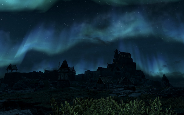 File:Whiterun at night.png