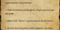Gavo's Itinerary
