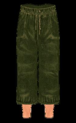 GreenFeltPants O
