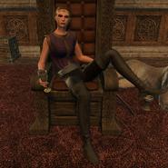 Governor Fortunata on Throne