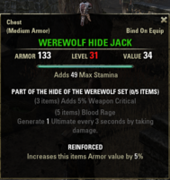 Hide of the Werewolf - Jack 31
