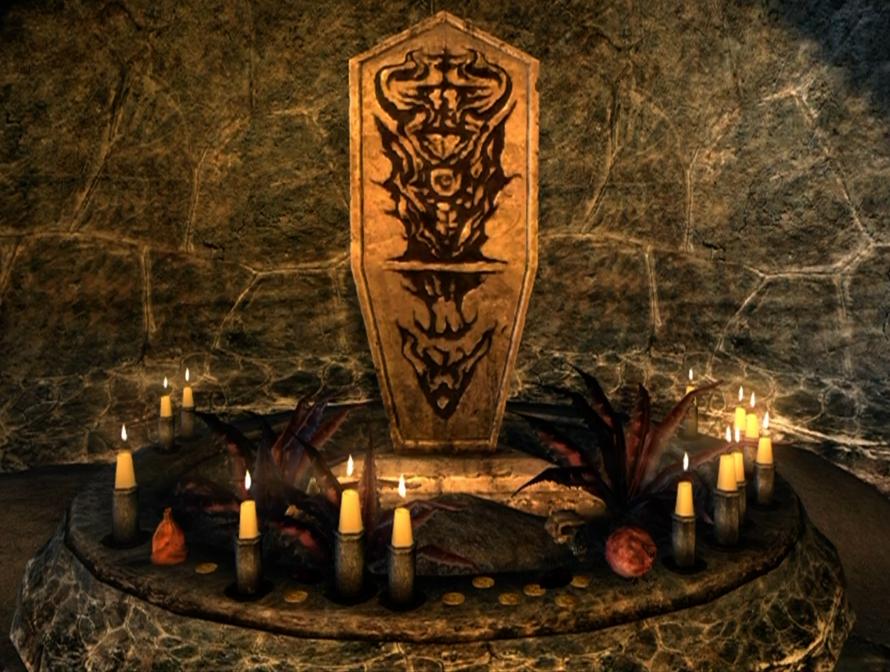 Image - Mephala Quest At Shrine.png | Elder Scrolls | Fandom ...
