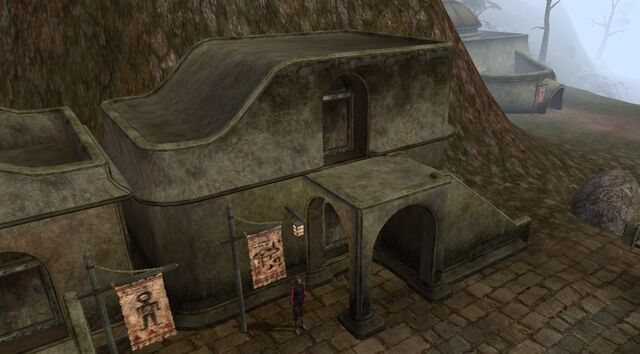 File:TES3 Morrowind - Balmora - Nalcarya of White Haven Fine Alchemist exterior.jpg