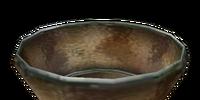 Peach Glass Bowl
