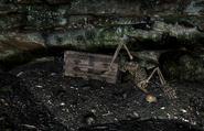 Cronvangr Cave Under Water