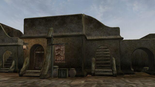 File:TES3 Morrowind - Balmora - Ra'Virr Trader exterior.jpg