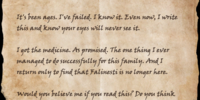 Letter to Firilia