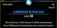 Luminous Blood Sac