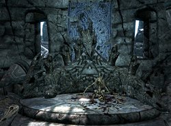 Decayed shrine