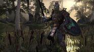 Argonian warrior