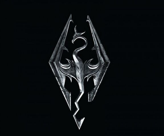 File:Skyrim-logo-dragon.jpg