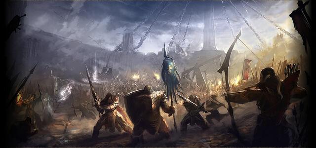 File:Elder Scrolls Online Battle.jpg