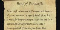 Head of Brazzefk