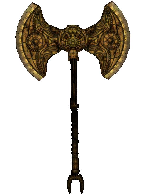 Dwarven Battle Axe Oblivion Elder Scrolls Fandom