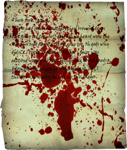 File:TESV Bloodstained Note.png