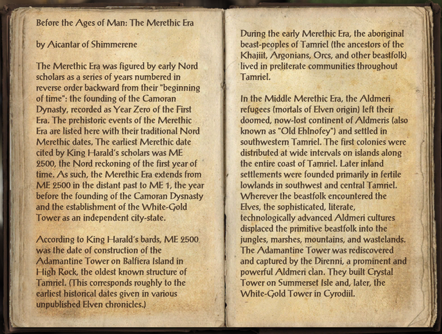 File:Before the Ages of Man Merethic Era 1 of 3.png