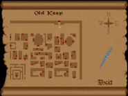 Old keep view full map