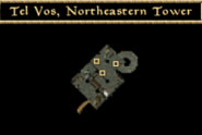 Tel Vos, Northeastern Tower - Interior Map - Morrowind