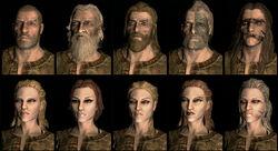 Skyrim nord faces