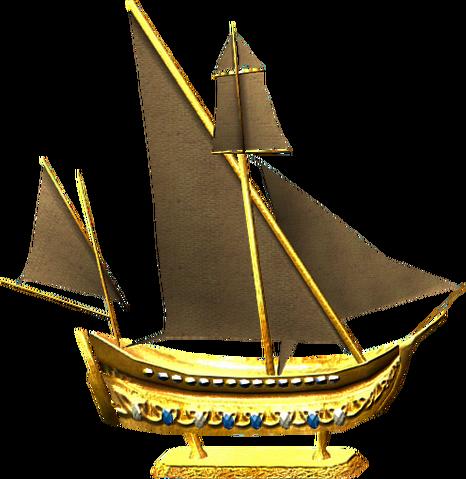 File:Golden ship model.png