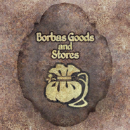 TESIV Sign Borbas Goods and Stores