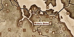 Hircine's Shrine MapLocation