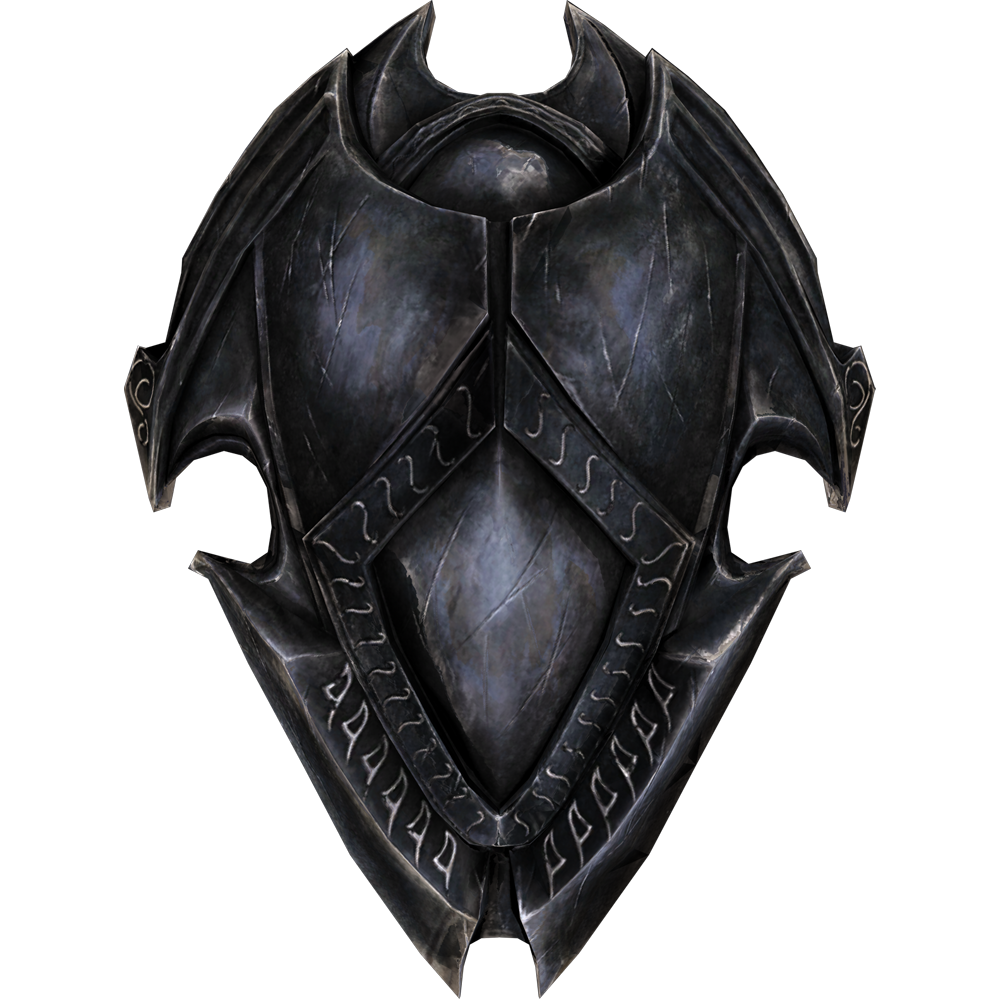 ebony shield skyrim elder scrolls fandom powered by. Black Bedroom Furniture Sets. Home Design Ideas