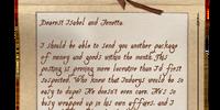 Suspicious Letter