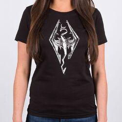Ladies-tee-es-dragonsymbol-front