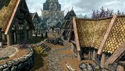 The Wind District Whiterun Skyrim
