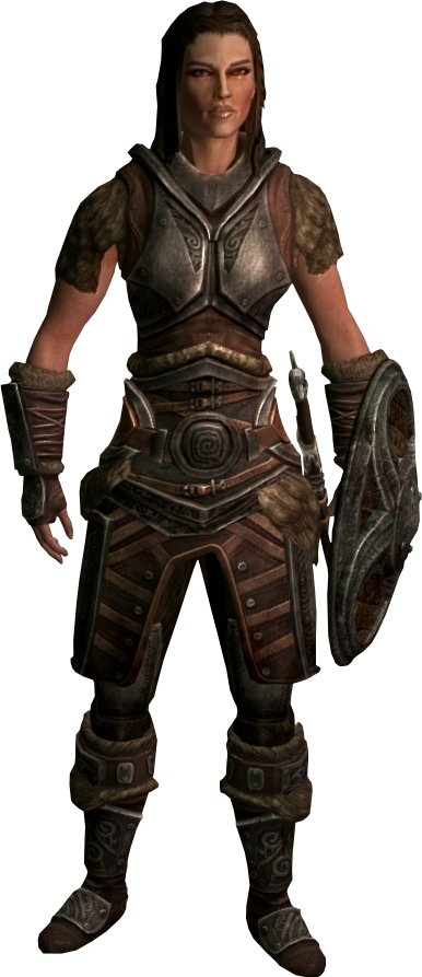 Ashley - standalone scout follower at Skyrim Nexus - mods and ...