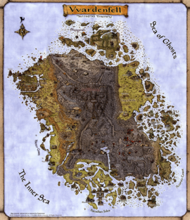 Vvardenfell Official Map