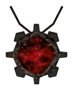 TES3 Morrowind - Amulet - Amulet of Heartrime
