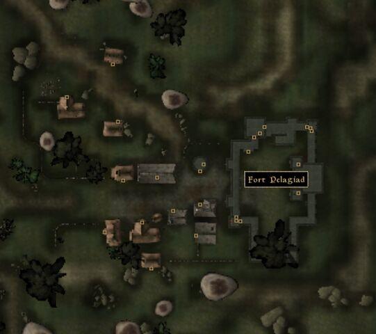 File:TES3 Morrowind - Pelagiad - Fort Pelagiad - location map.jpg