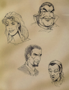 TESRED Concept Characters 2