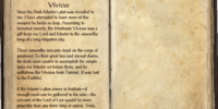 Notes on the Mortuum Vivicus