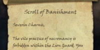 Scroll of Banishment