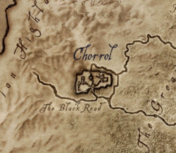 TESIV Location Chorrol Map