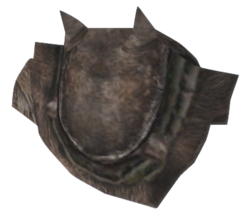 Bear Right Pauldron - Morrowind