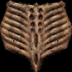 TES III Armor Goblin Shield