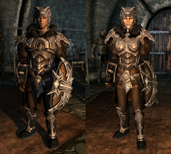 Nordic Carved Armor - Both