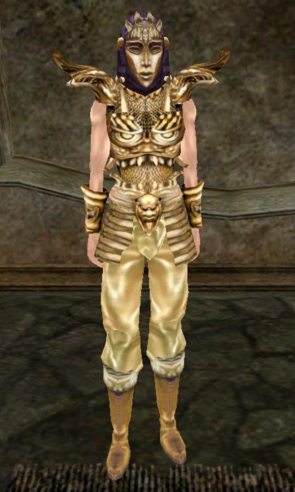 Alfa img - showing gilded steel armor skyrim