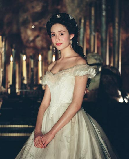 Christine daa by alma ms elegante wiki fandom for Phantom of the opera wedding dress