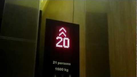 Sofitel So Bangkok Brand New Kone Traction Elevators